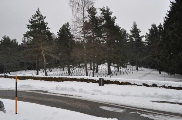 Der Soldatenfriedhof Hohrod bei Münster (Elsass)
