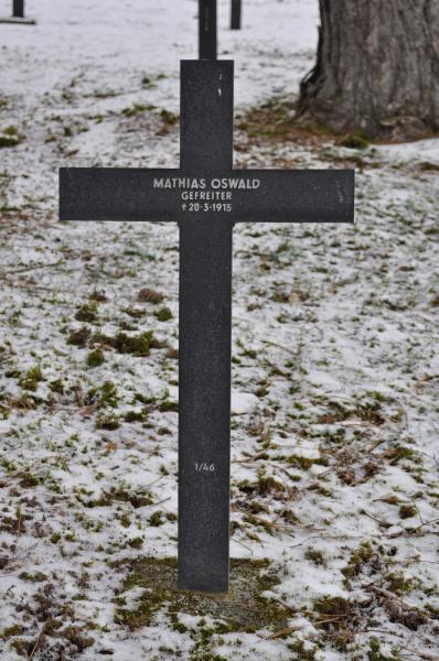 Das Grab Matthäus Osswalds