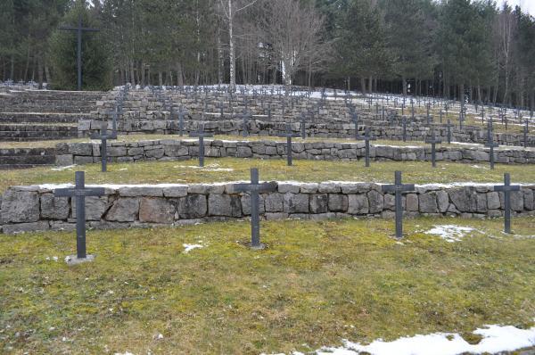 Die unmittelbare Umgebung des Grabes von Andreas Waibel