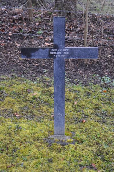 Das Grab von Johann Lipp