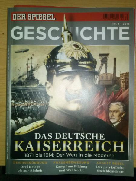 der spiegel geschichte das deutsche kaiserreich